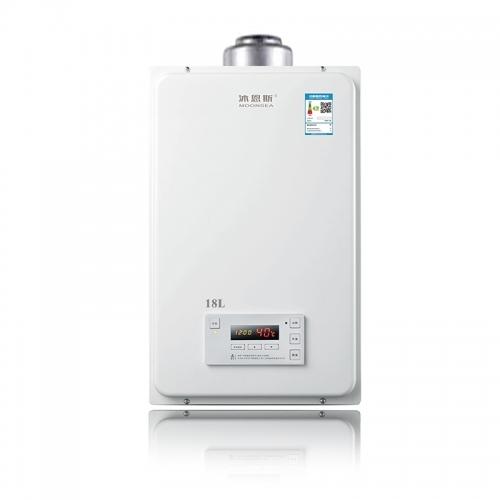 餐厅厨房与淋浴室间距很远,该怎么装天然气热水器?