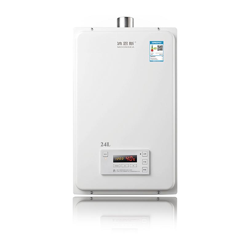 大流量强排式燃气热水器